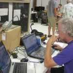 Hank, K5HDE, works PSK31. We garnered 44 digital QSOs this year.