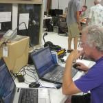 Hank, K5HDE, works PSK31.  We garnered 44 digital QSOs this year.