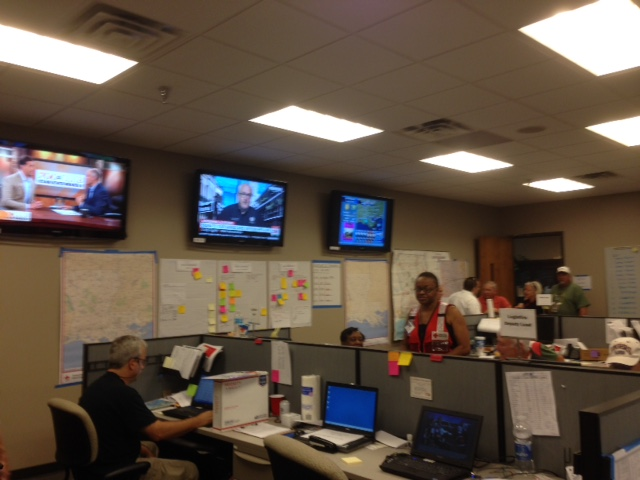 Red Cross Disaster Operations Center