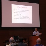 Dick N5KIP, talking about the fun of operating CW.